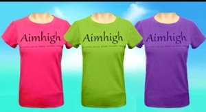 Aim high tee shirts from Ebon Glenn
